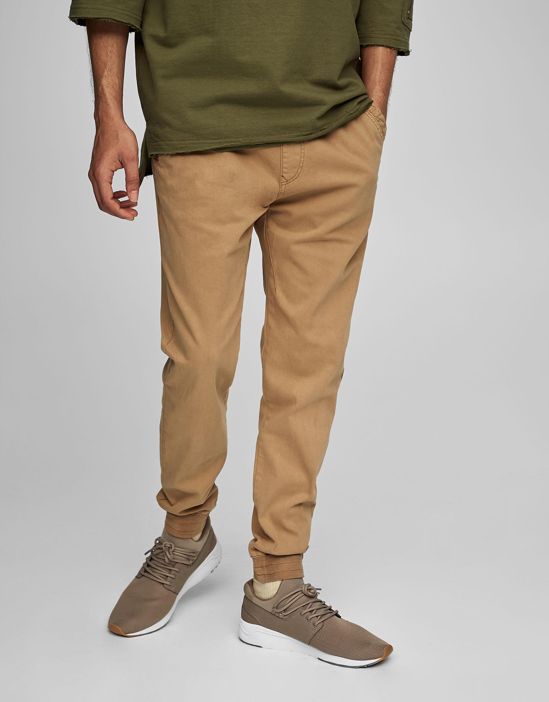 Pantalons tipus beach rentats colors