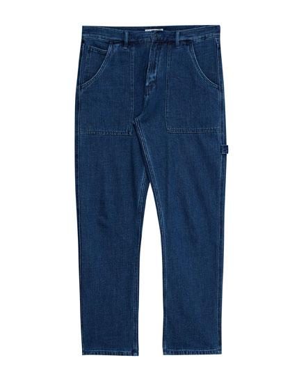 Blue carpenter jeans