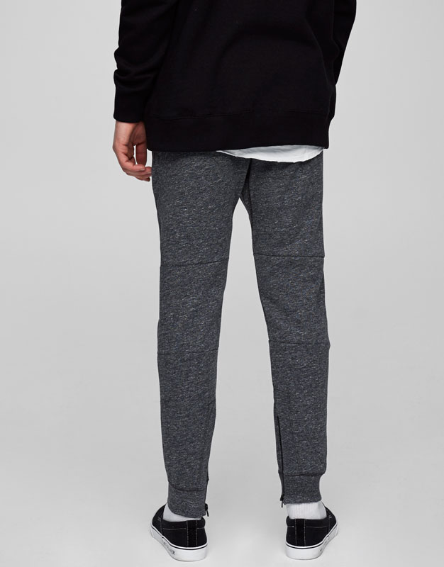 Technical jogging trousers