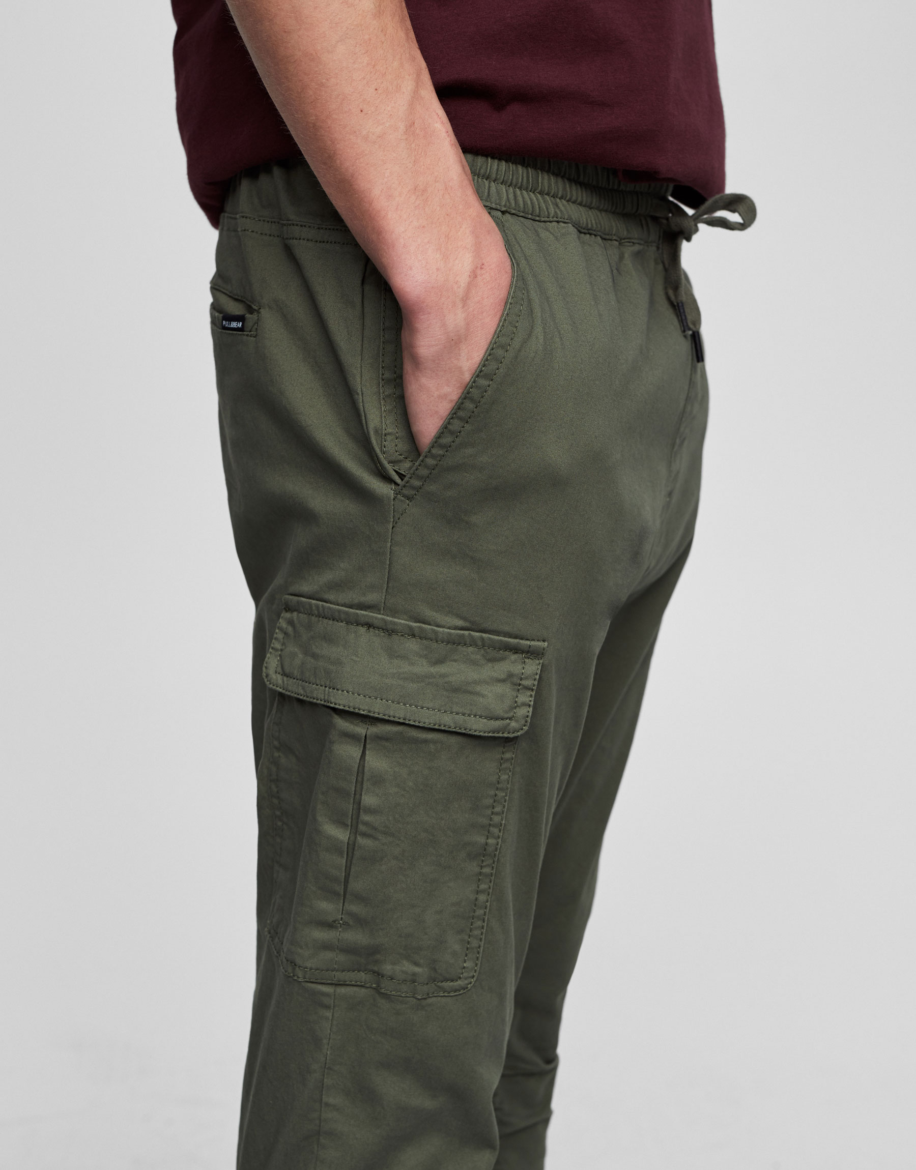 Baggy fit cargo trousers