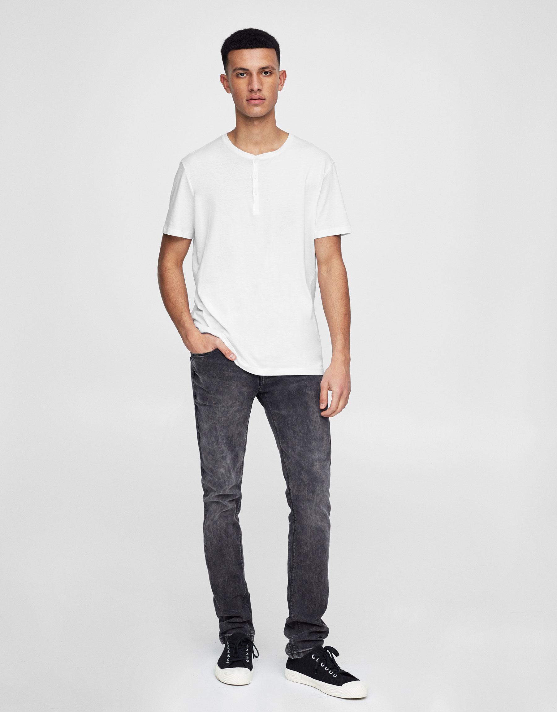 Jeans skinny fit black (Colección Marc Márquez)