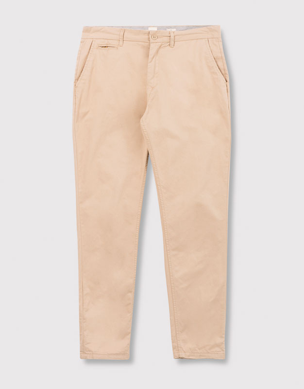 Chino-style trousers