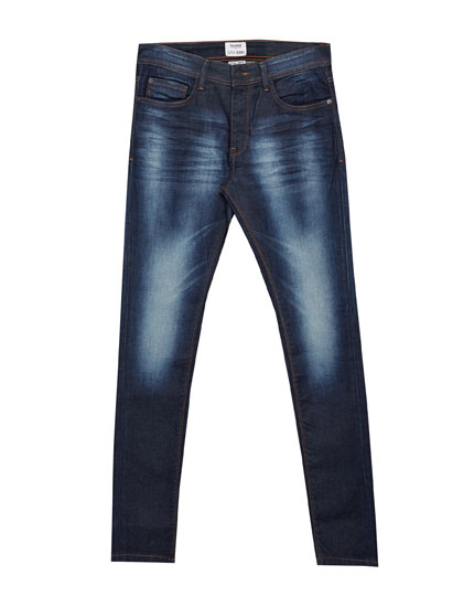 Jeans superskinny fit azul oscuro