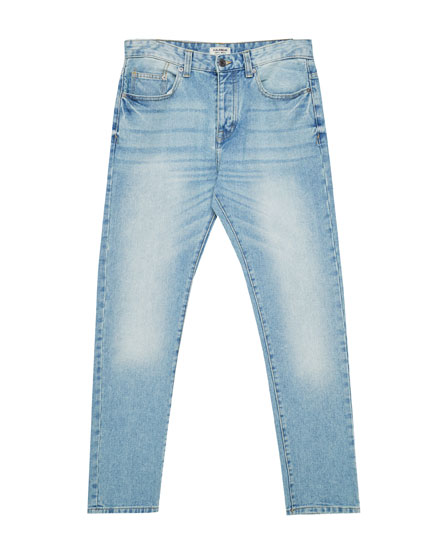 Jeans regular fit azul