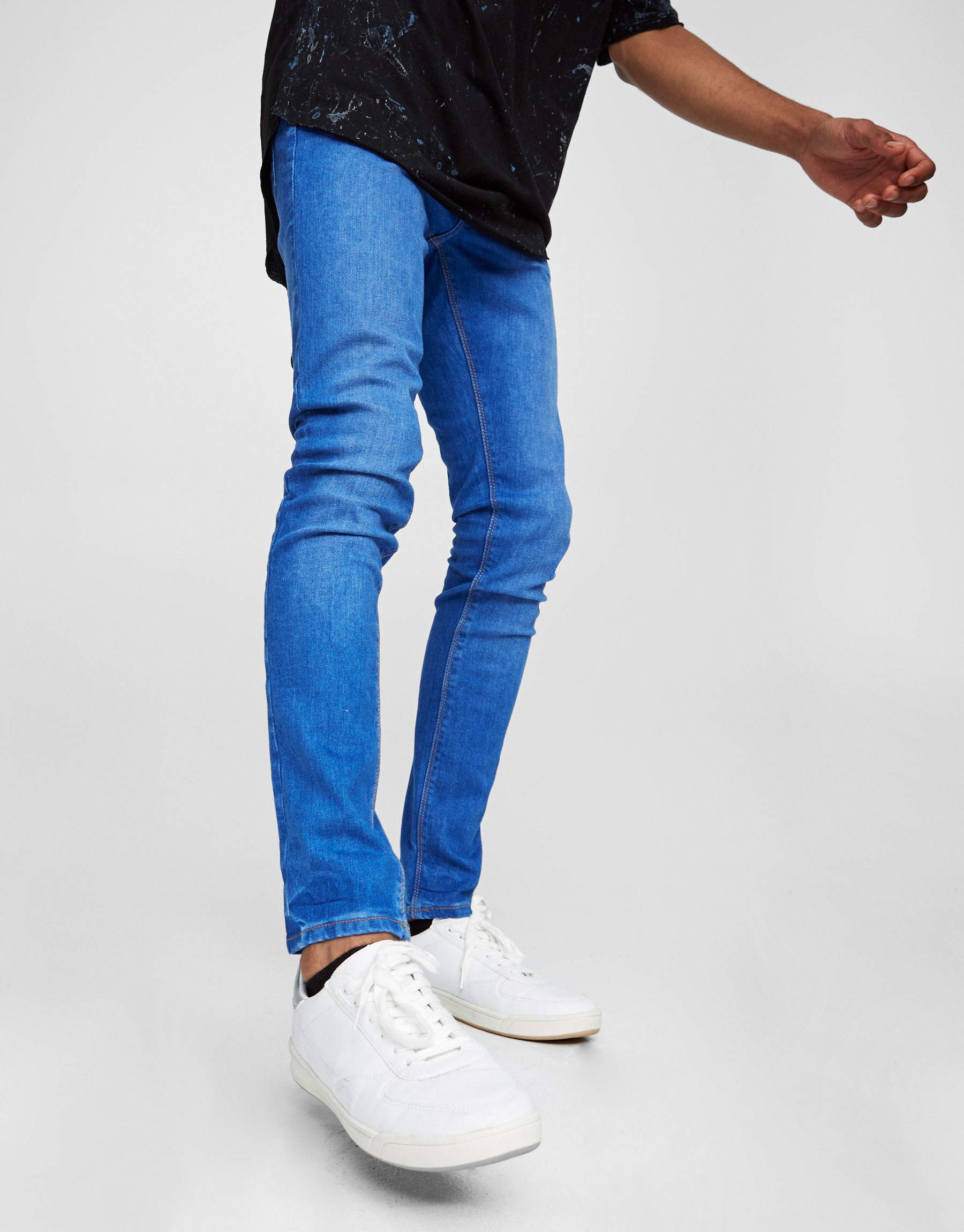 Light blue superskinny fit jeans