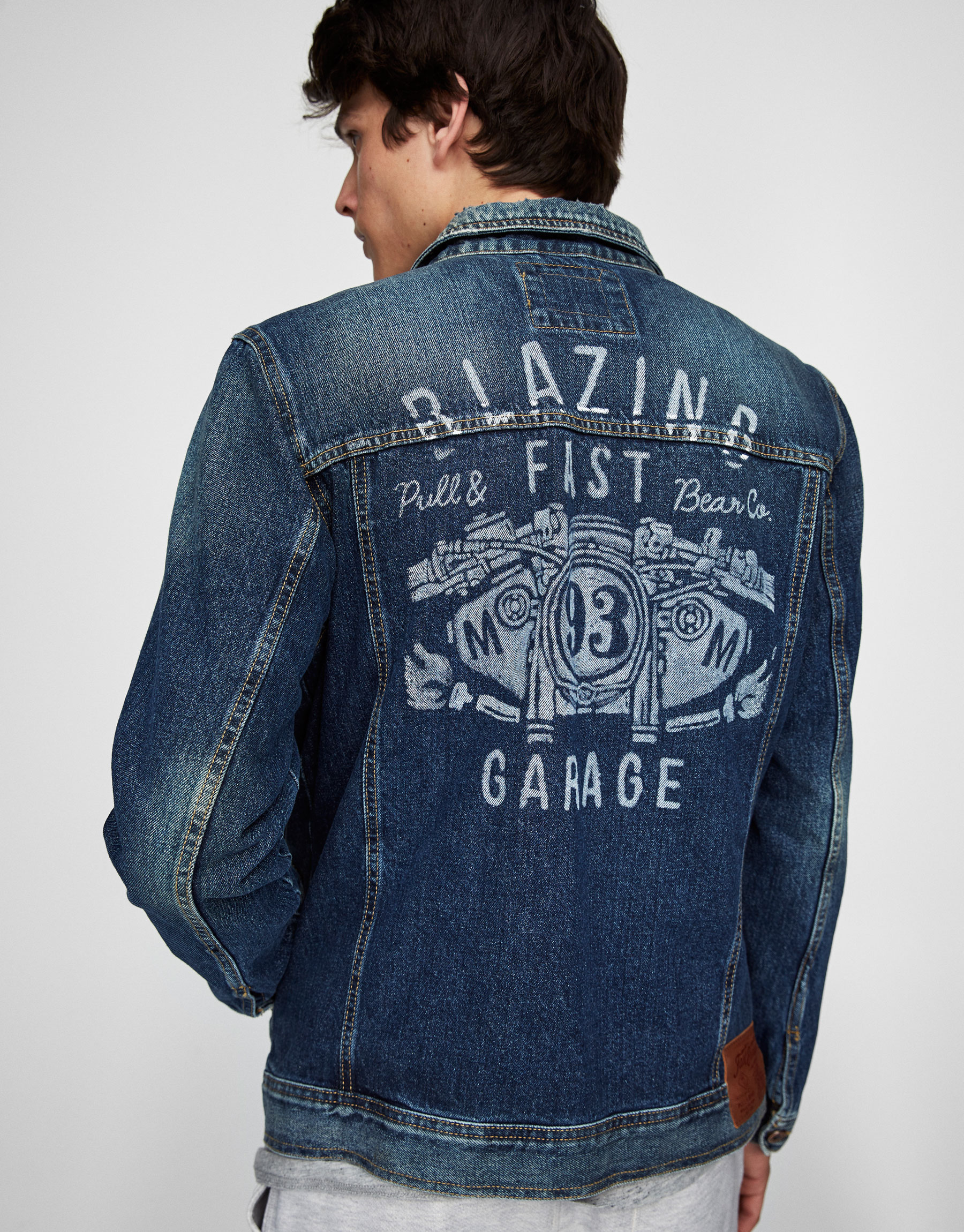 Blue denim jacket (Marc Márquez Collection)