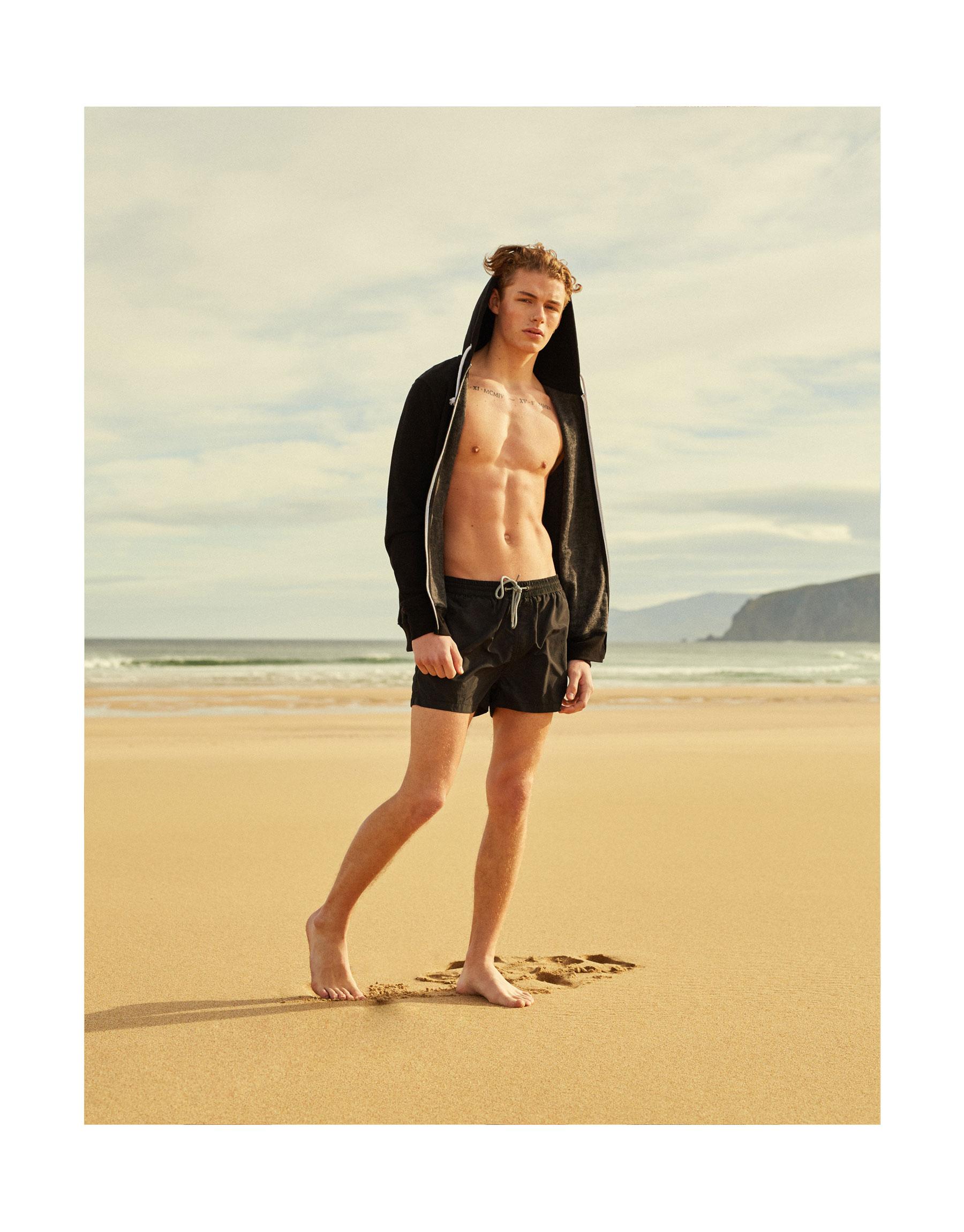 Basic black swimsuit