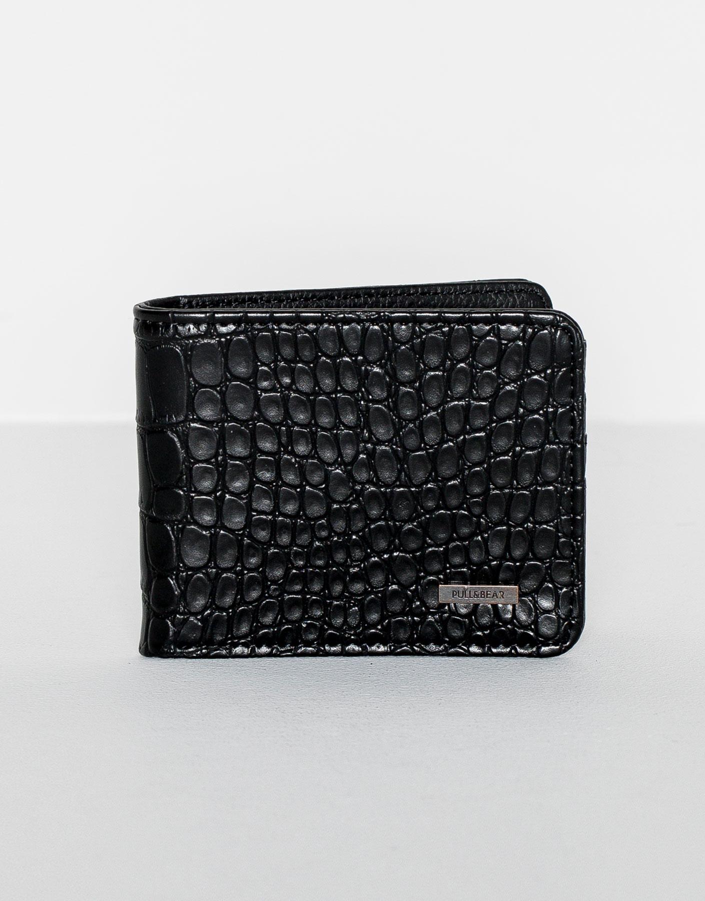 Embossed effect wallet