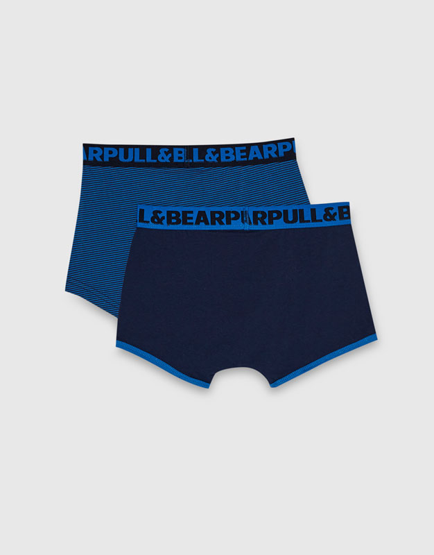 Boxer cintura elástica (Pack x2)