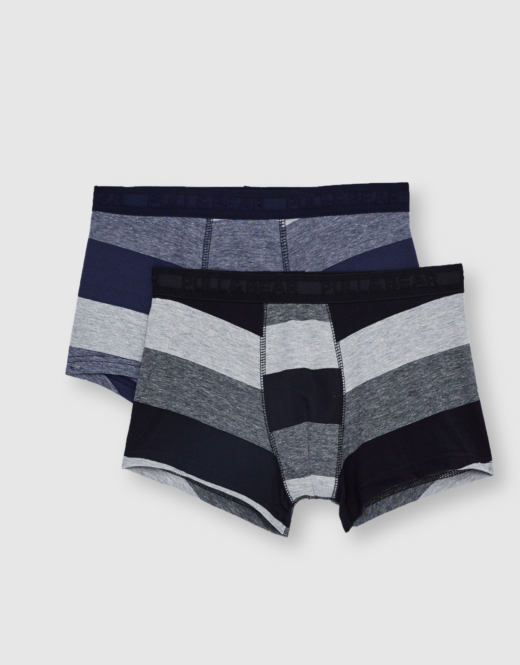 Striped boxer shorts (Pack of 2)
