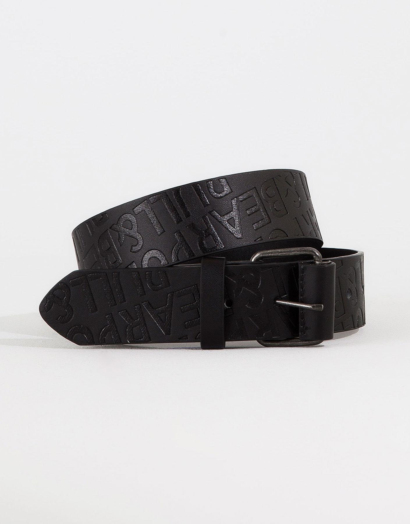 Cinturón grabado logo