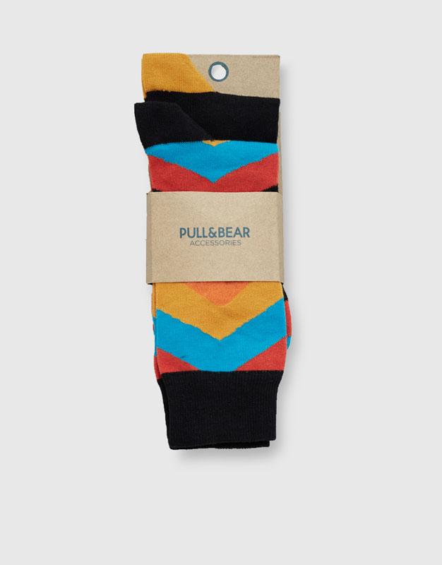 Calcetines caño largo (pack 2)