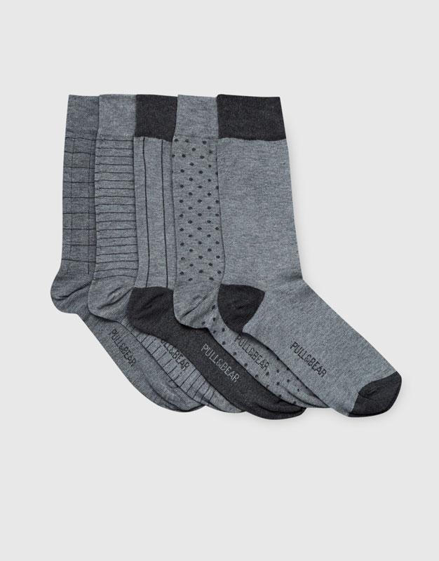 Long socks (5 pack)
