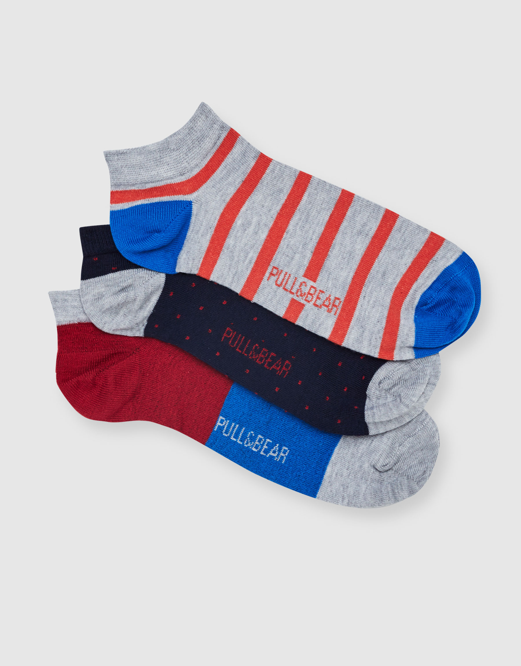 Colourful socks (Pack of 3)