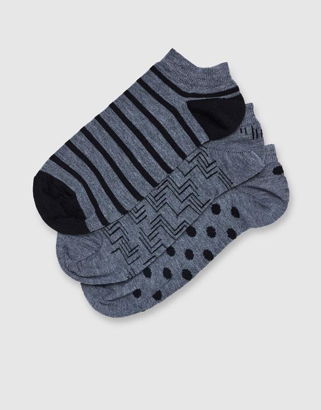 Ankle socks (Pack of 3)