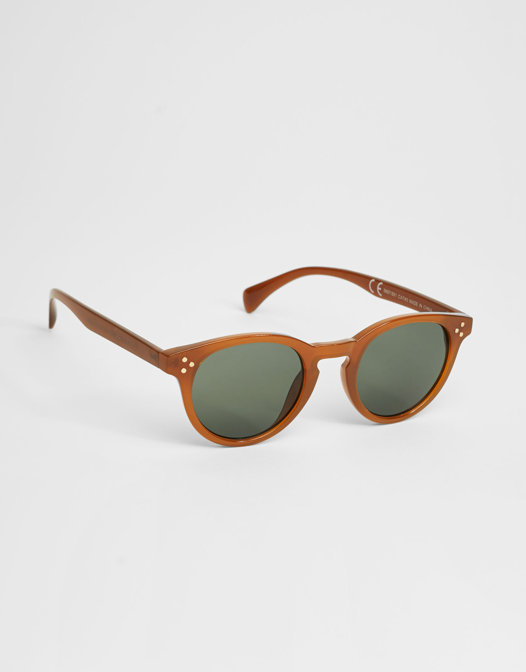 Coloured frame sunglasses