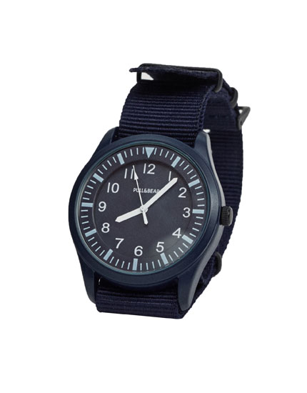 Nylon casual watch