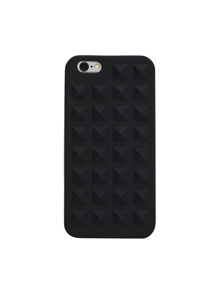 Rubber phone cover