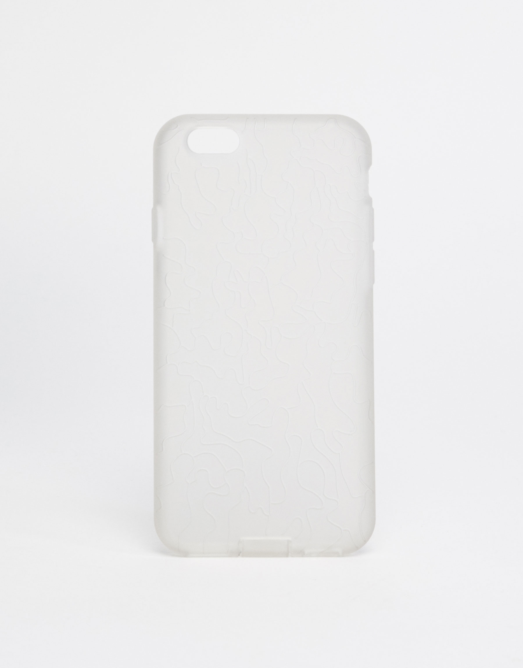 Transparent mobile phone case
