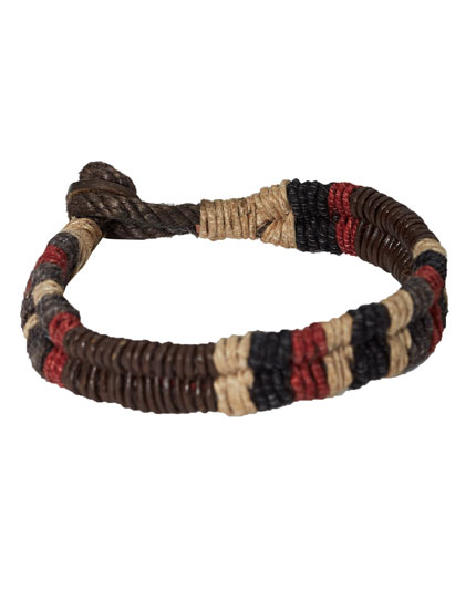 Red and brown bracelet pack