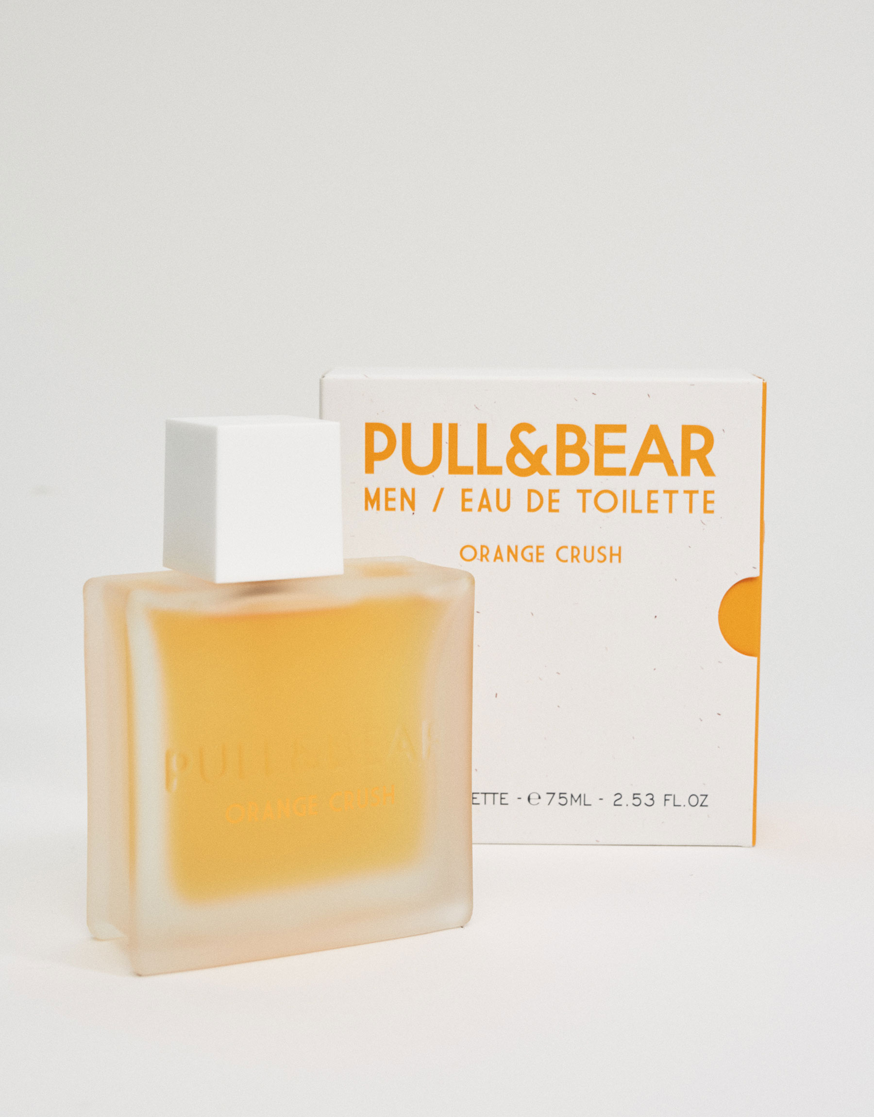 Pull & bear orange crush 75 ml eau de toilette