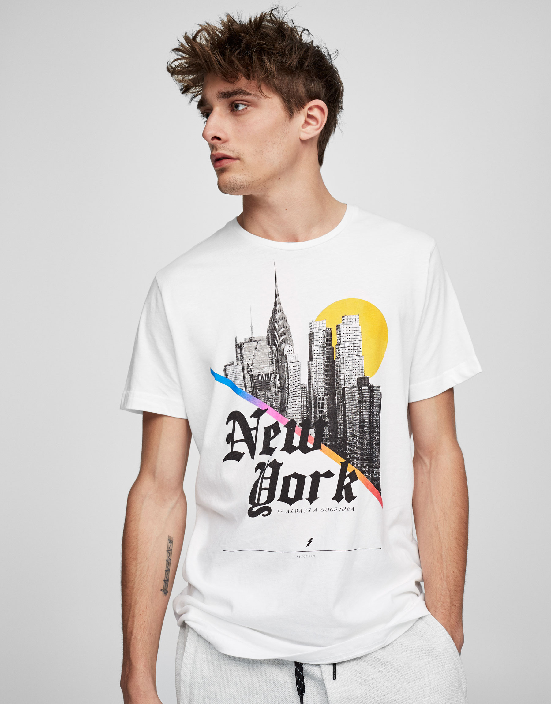 New York City print T-shirt