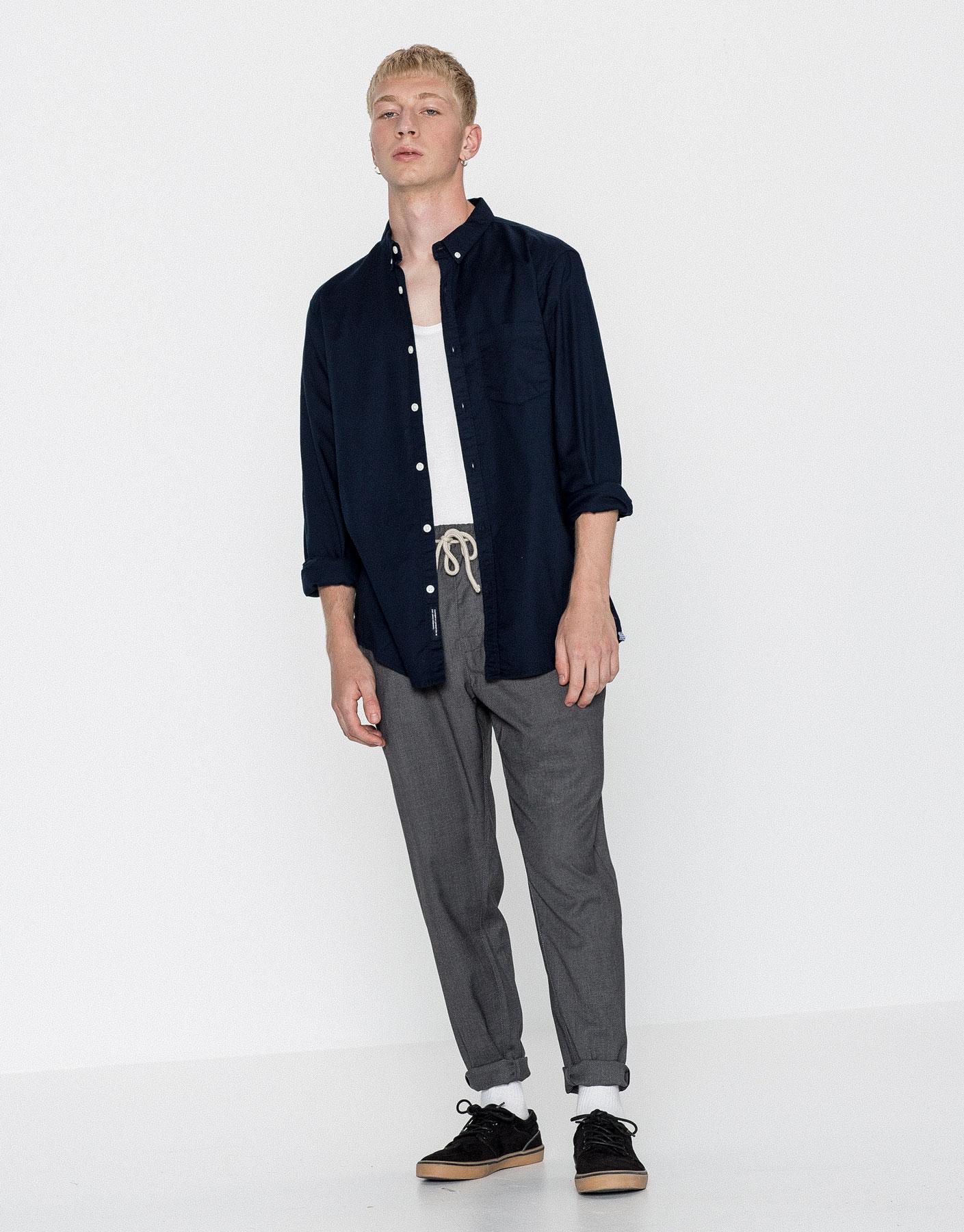 Camisa oxford básica