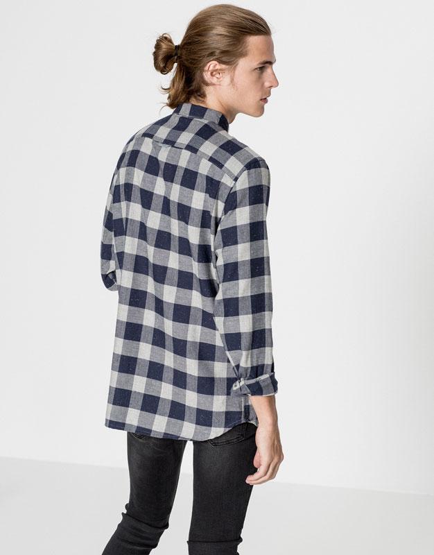 Camisa cuadro damero naps
