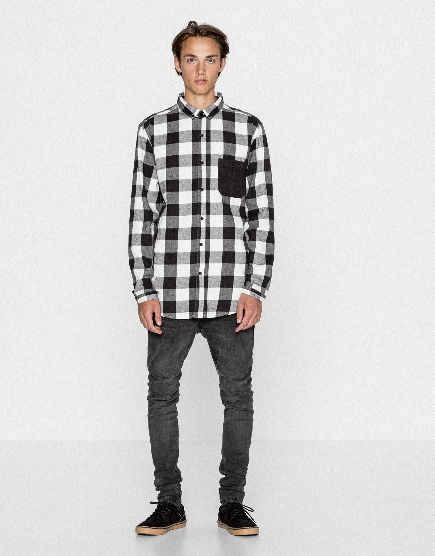 Camisa franel·la quadre escaquer
