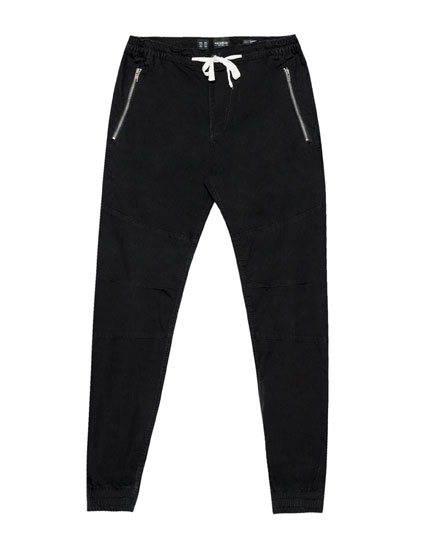 Zipped beach trousers