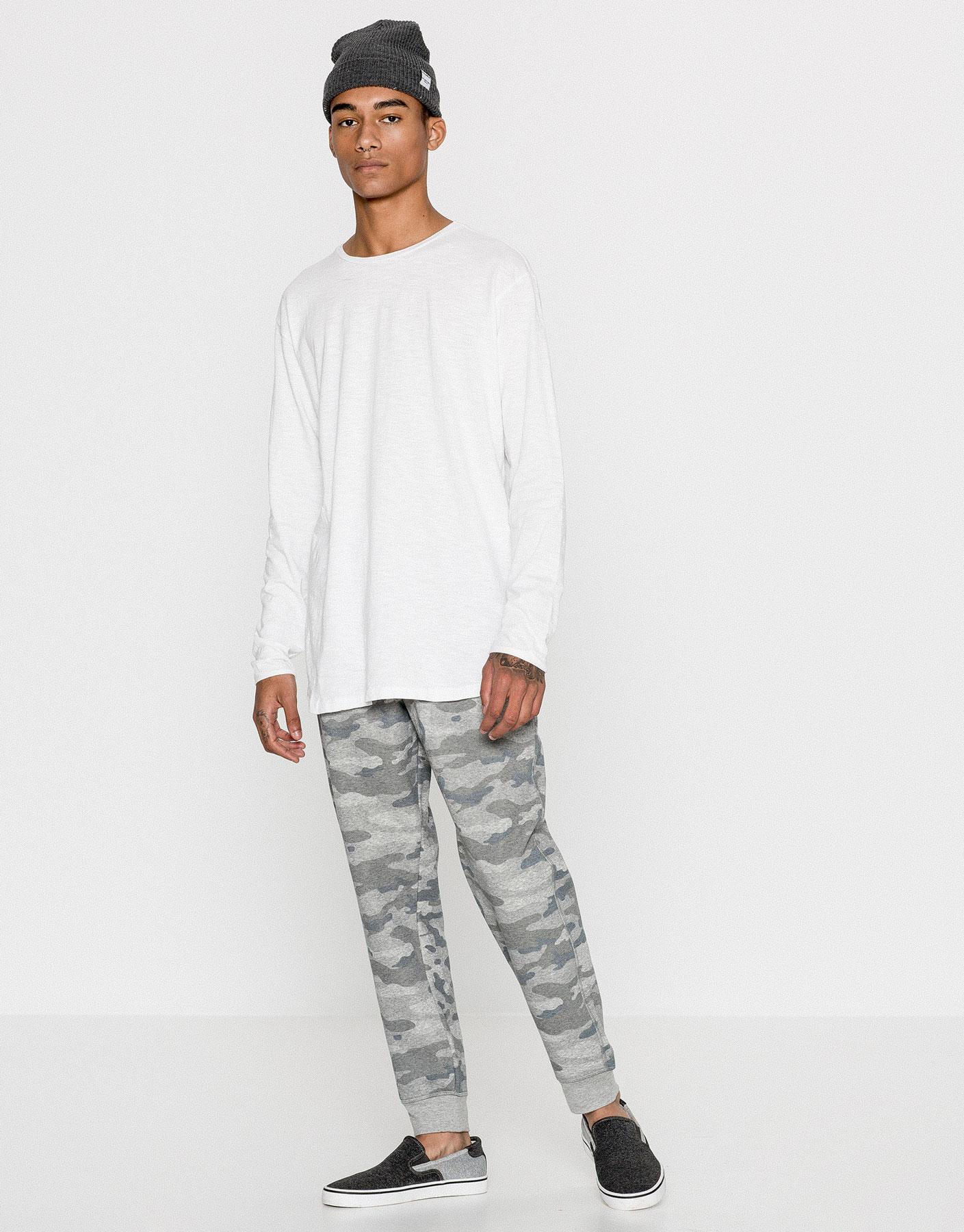 Pantalons jòguing camuflatge