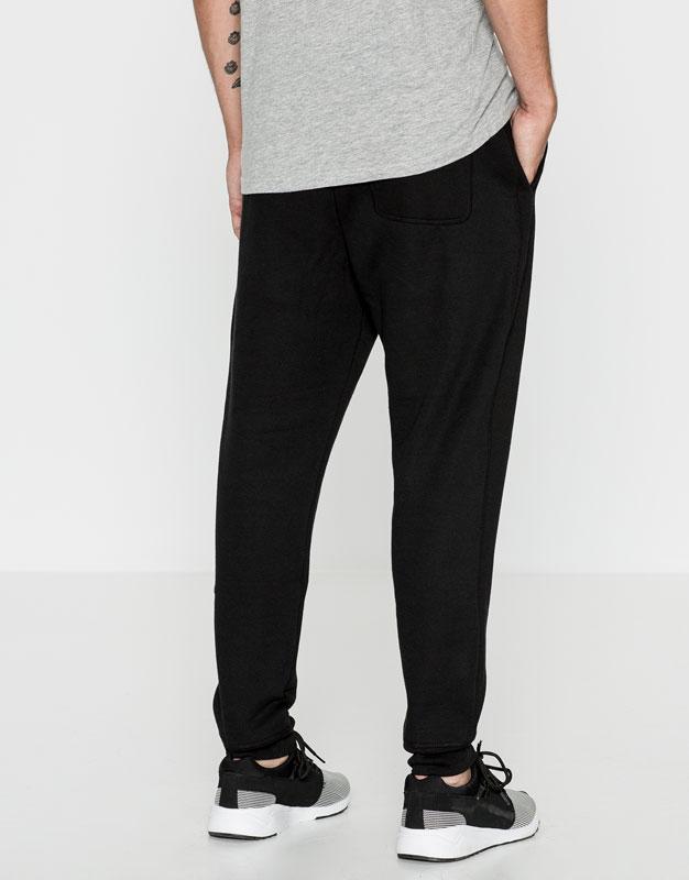 Cuffed jogging trousers