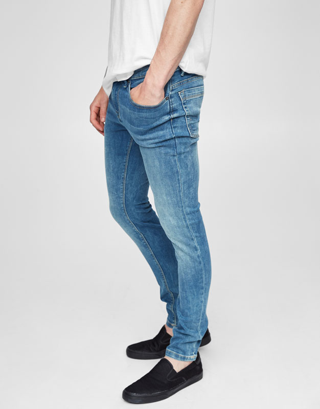 Pantalons texans superskinny fit