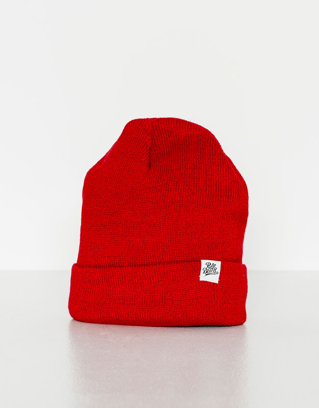Colourful knit hat