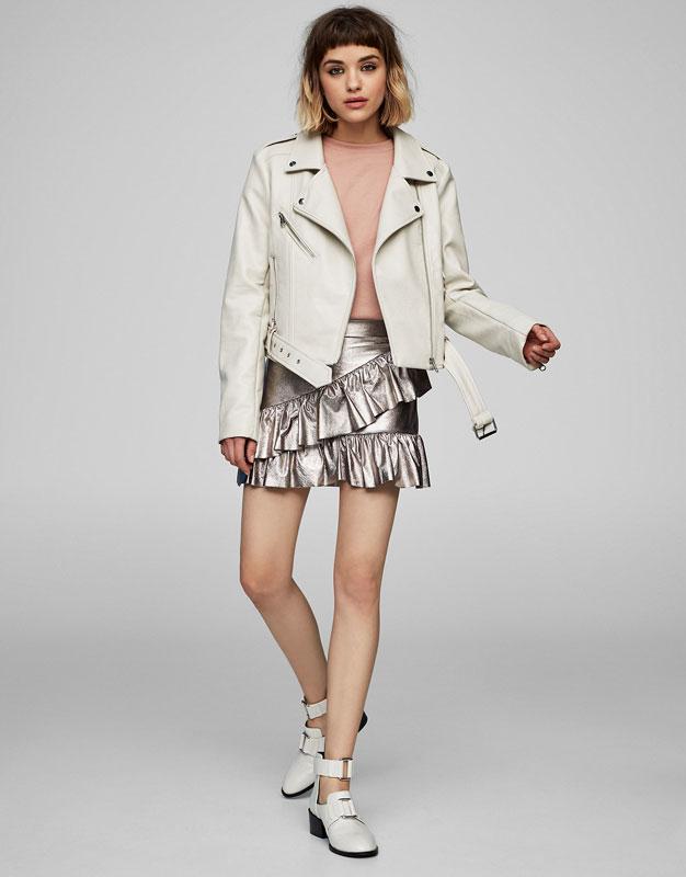 Botín moda white