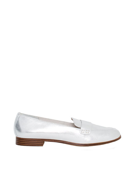 Laminated loafers