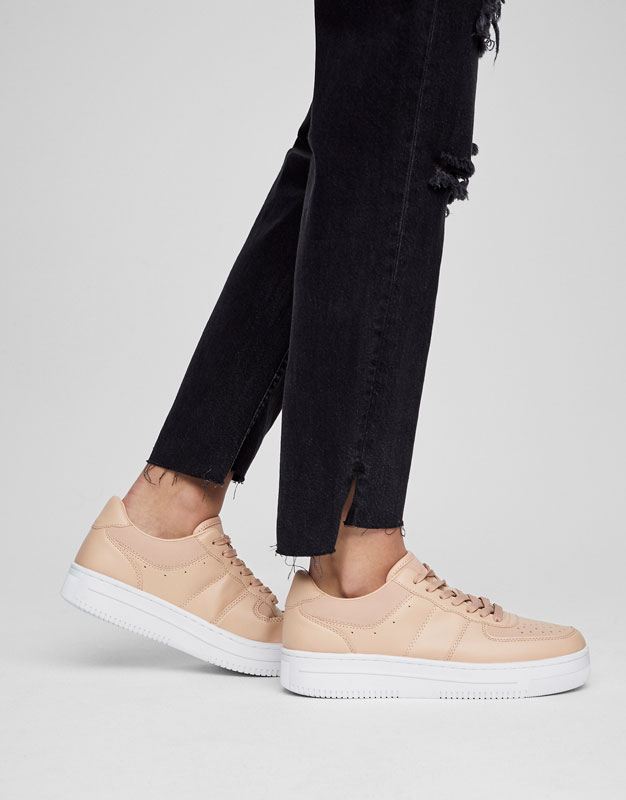 Legging couleur block