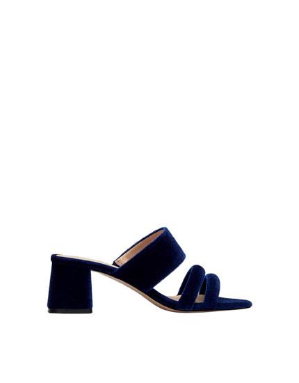 Sandalia noche azul