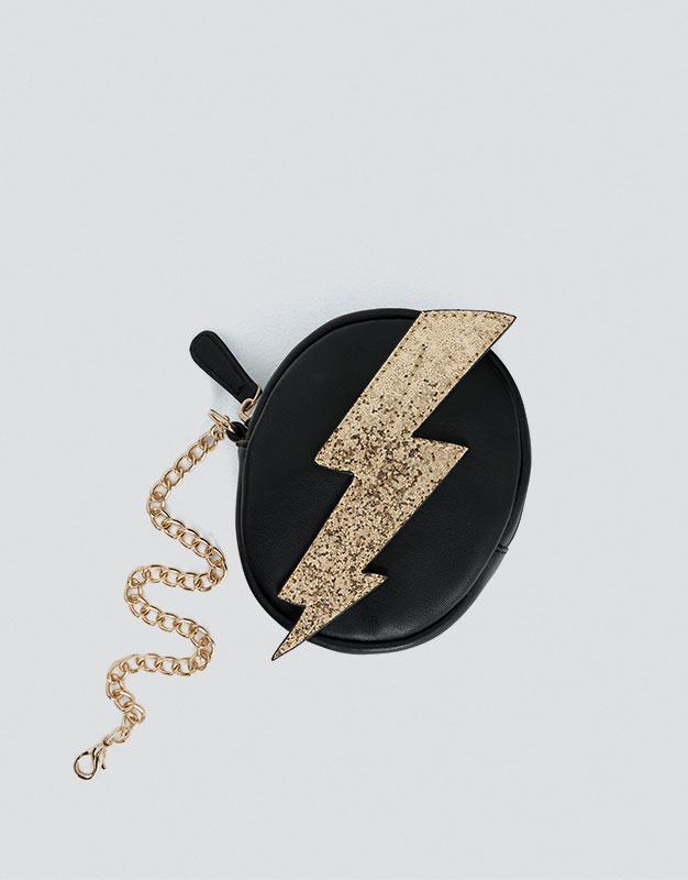 Lightning coin purse