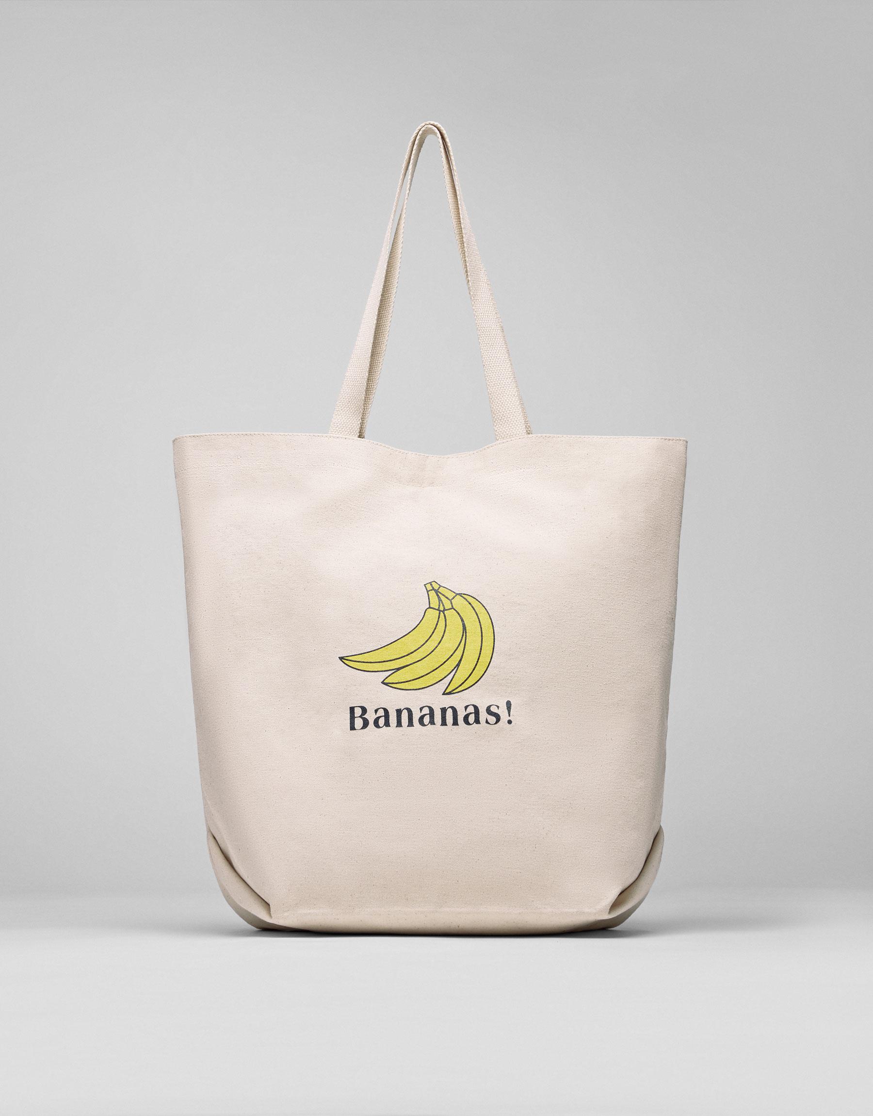 Printed fabric bag