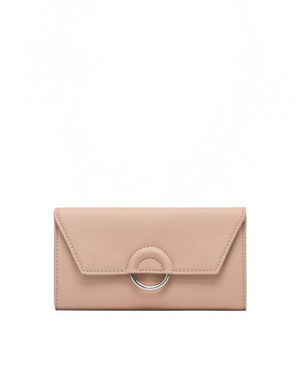 Pink ring wallet