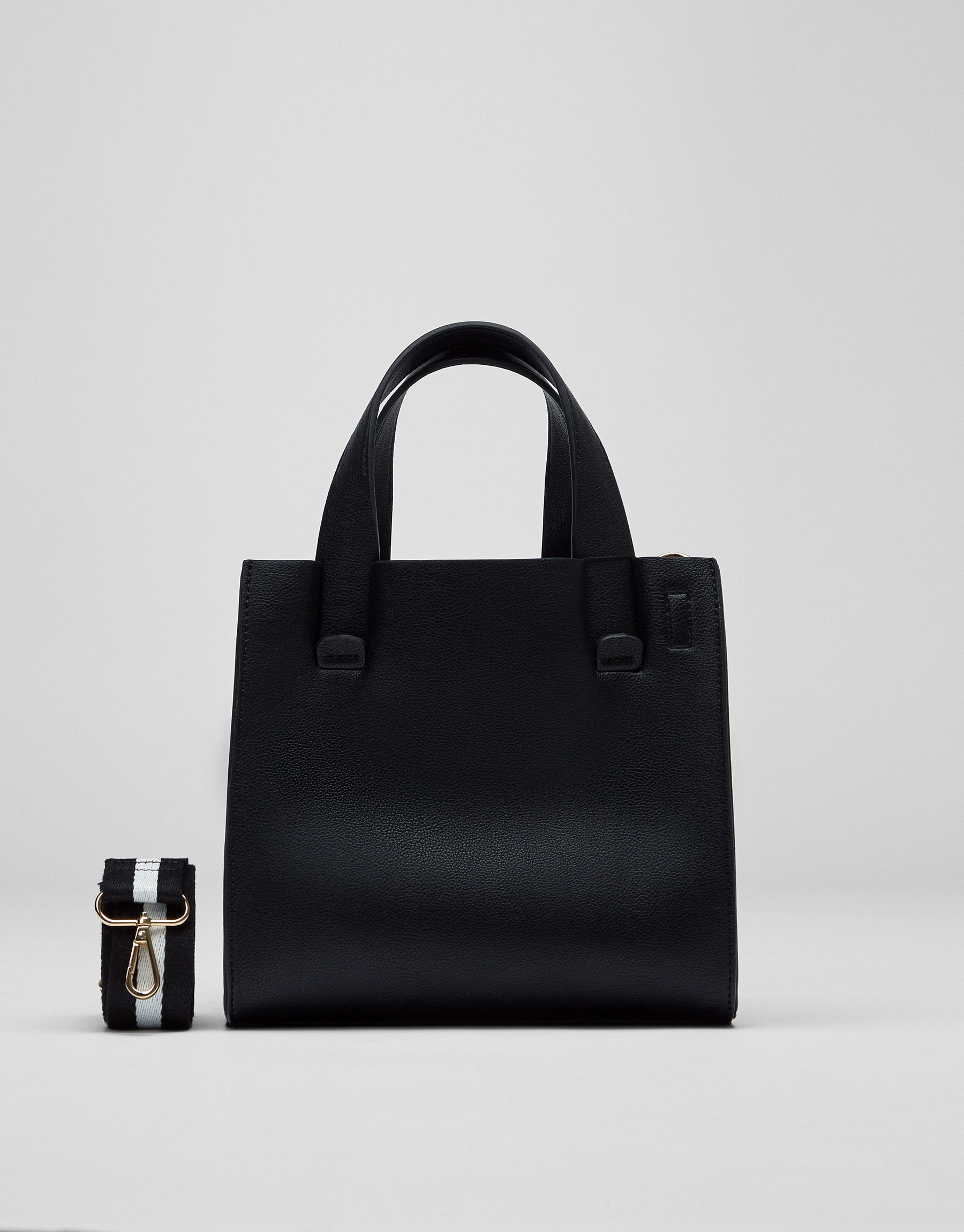 Sac shopper basic noir