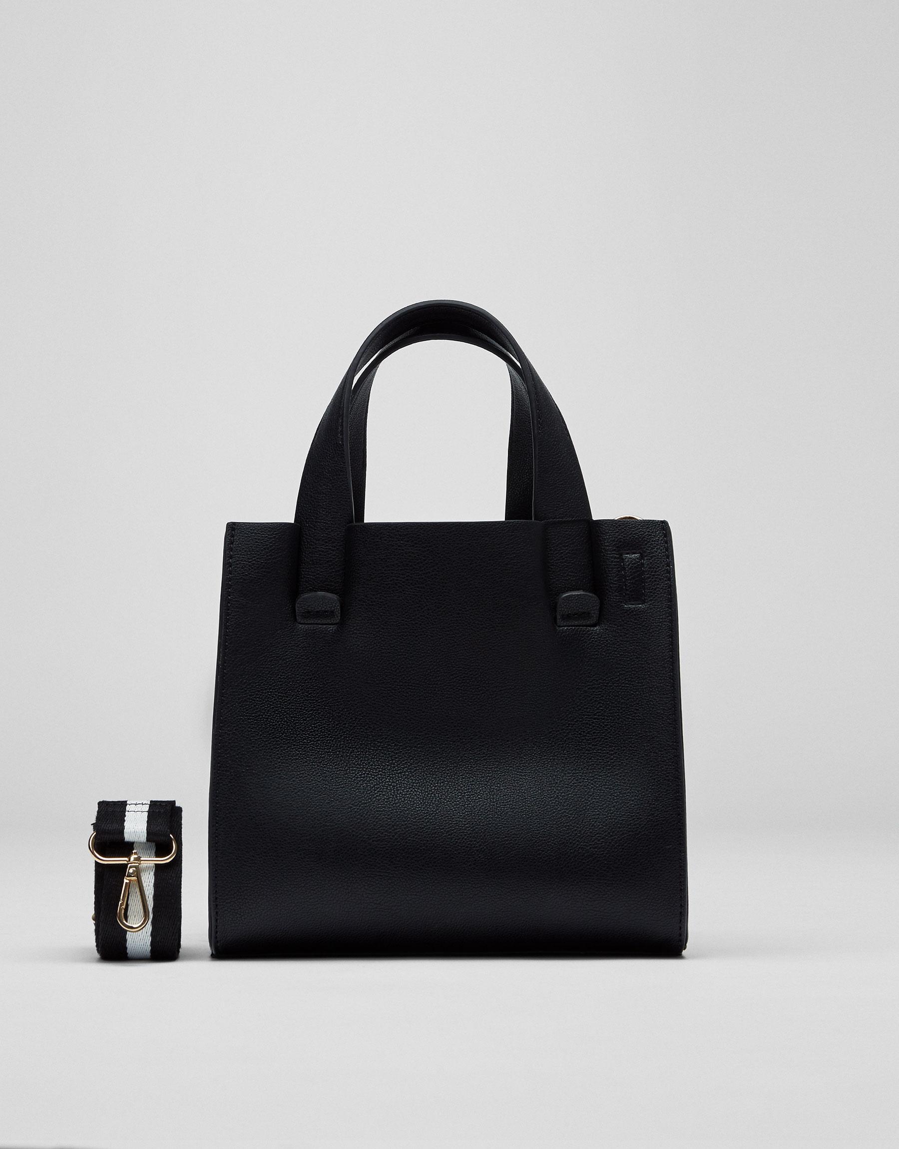 Basic black tote