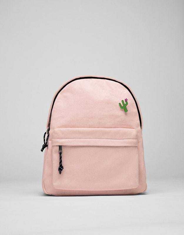 Fabric backpack