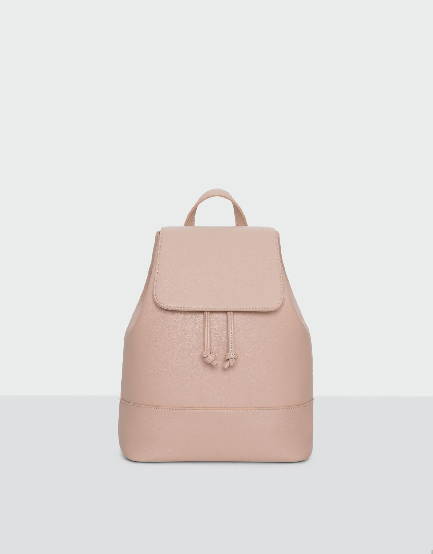Basic pink backpack