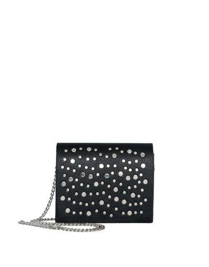 Stud detail crossbody bag