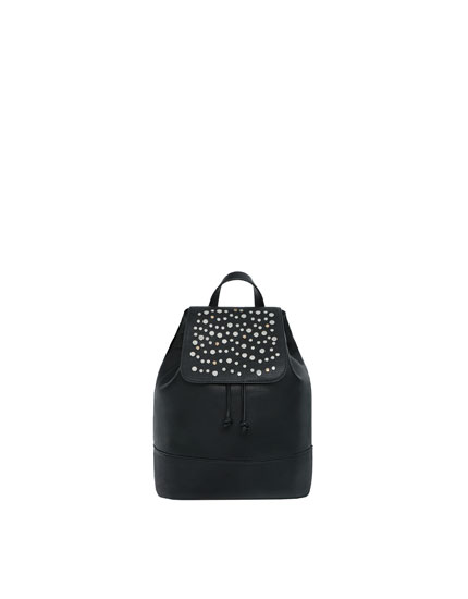 Stud detail backpack