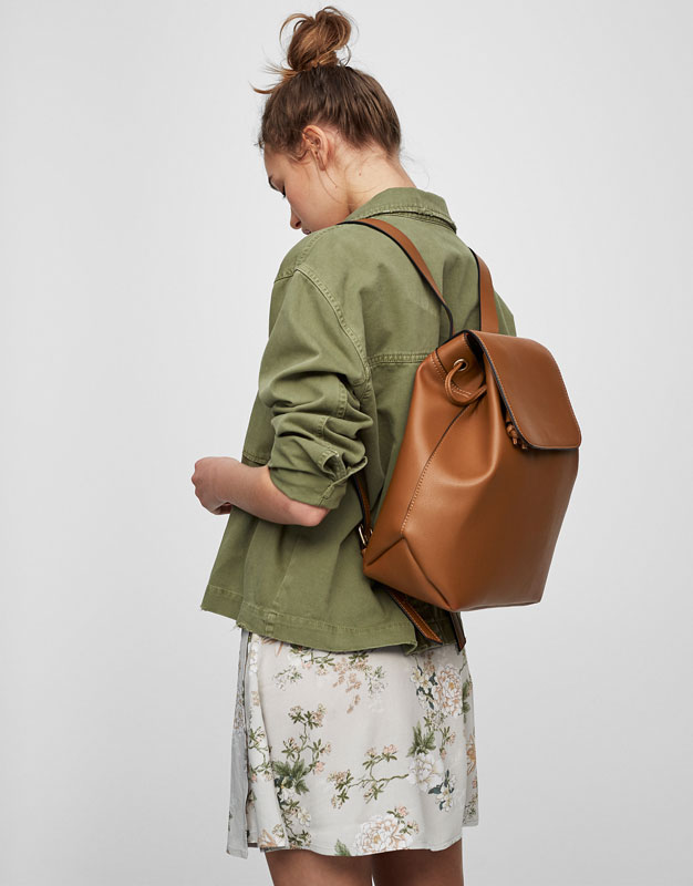 Basic camel backpack