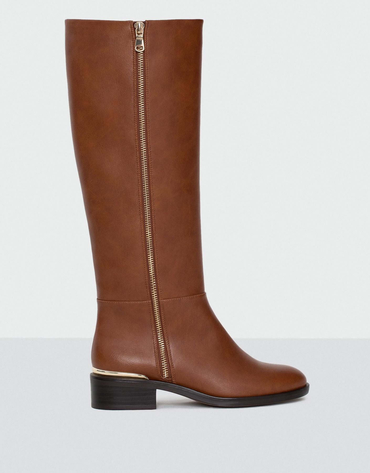 Appliqué  boots