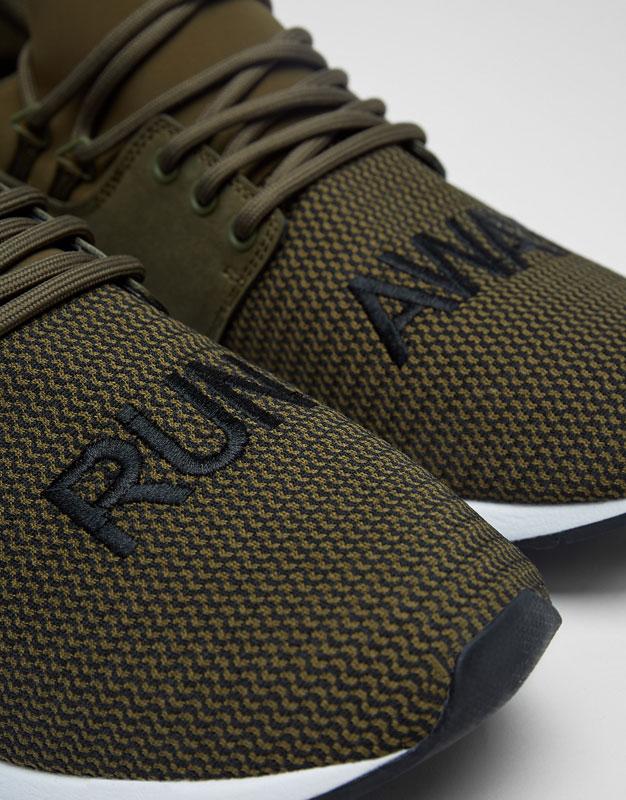 Slogan sneakers